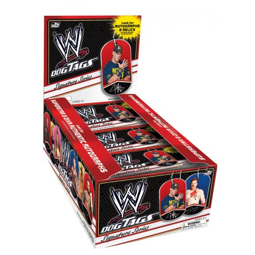 Topps 2013 WWE 'Dog Tags' Wrestling Trading Cards Hobby Box ()