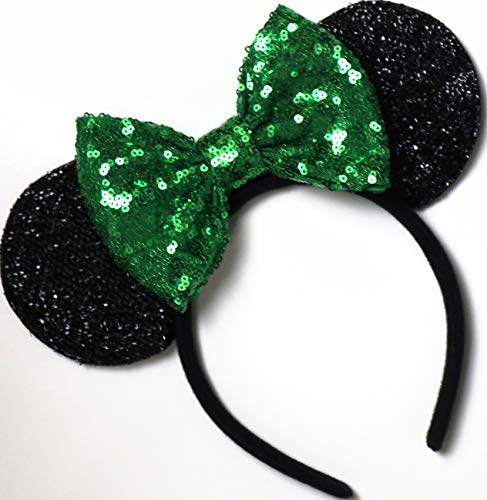(Tinker Bell Mickey Ears, Tinker Bell Ears, Tinker Bell Minnie Ears, Green Mickey Minnie)