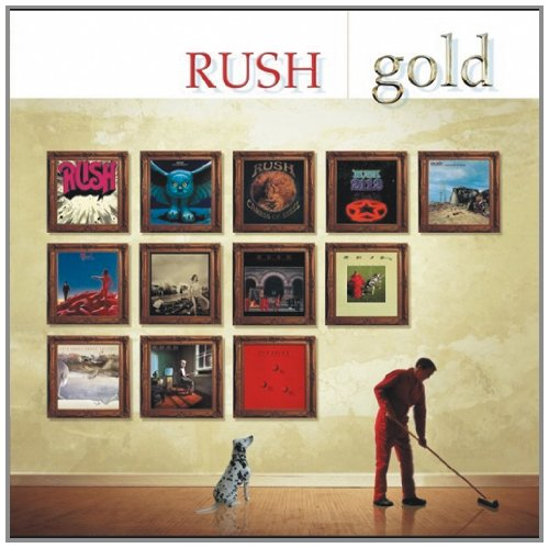 CD : Rush - Gold (Remastered, 2 Disc)