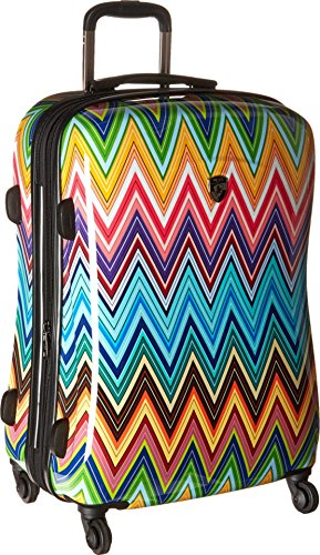 Heys America Unisex Colour Herringbone 26'' Spinner Multi Suitcase by HEYS AMERICA