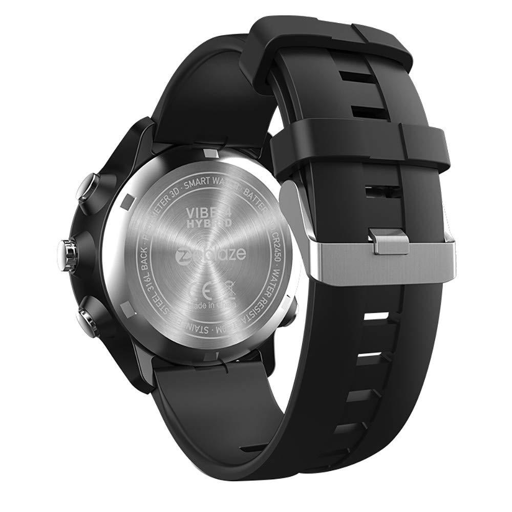 Amazon.com : Digood Zeblaze Vibe 4 Hybrid Smart Watch Phone ...