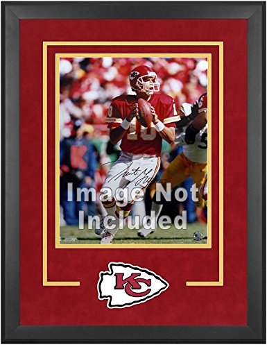 Kansas City Chiefs Deluxe 16x20 Vertical Photograph Frame by Mounted Memories