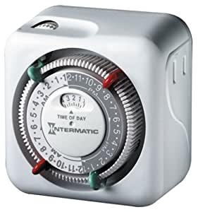 timer tn111c70 with 2 on off settings wall timer switches amazon. Black Bedroom Furniture Sets. Home Design Ideas