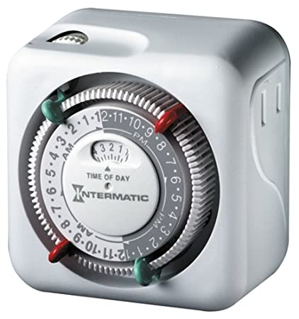 intermatic lamp and appliance security timer tn111c70 with 2 onoff settings - Lamp Timer