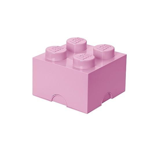 11 opinioni per LEGO 40031738- Scatola impilabile, 4 sferette, colore: rosa