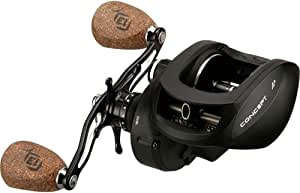 13 Fishing Concept A3 6.3:1 Right Hand Freshwater/Saltwater Baitcasting Fishing Reel, Black