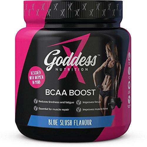 Goddess Nutrition - BCAA Boost Powder for Women - 240g, Blue Slush Flavour