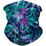 iHeartRaves Weed Galaxy Seamless Rave Mask Bandana