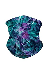 iHeartRaves Ganja Weed Seamless Rave Mask All Over Print Bandanas