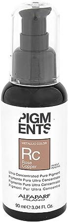 Alfa Parf - Tinte capilar Pigments Rc Rosa cobre, 90 ml