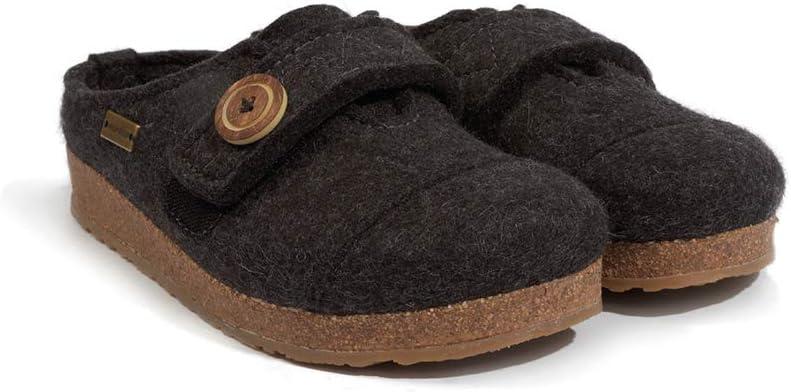 Haflinger Womens Hanna Wool Clogs