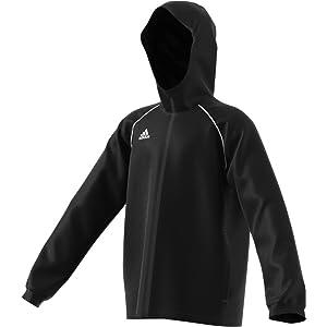 adidas Tiro 17 Rain Jacket Black adidas Men's Soccer