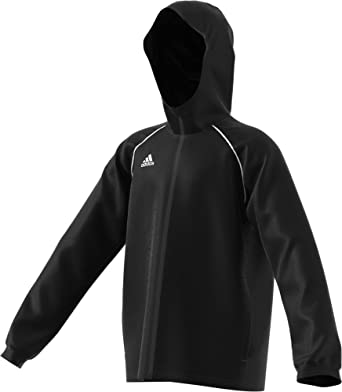ccbbb809a Adidas Core 18 Rain Jacket Kid's Soccer: Amazon.ca: Sports & Outdoors