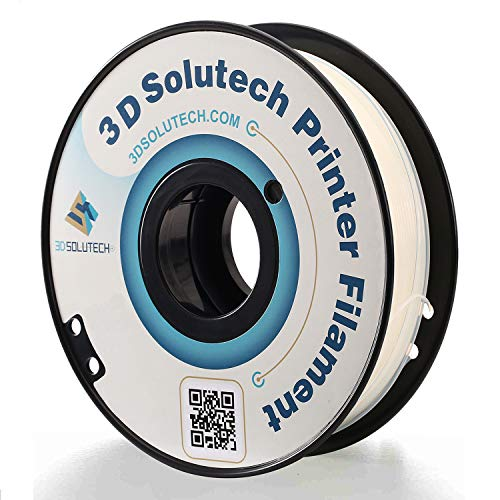 3D Solutech ST175CLPLA Natural Clear 1.75mm 3D Printer PLA Filament, Dimensional Accuracy +/- 0.03 mm, 2.2 LBS (1.0KG)