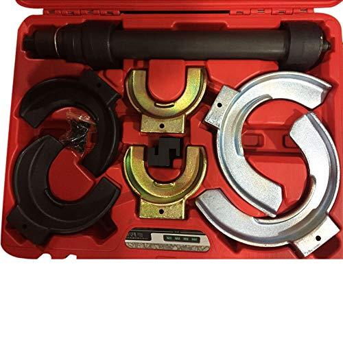 MILLION PARTS Universal Interchangable Fork Strut Coil Clamp Spring Compressor Extractor Tool Set Kit w/Case by MILLION PARTS (Image #2)