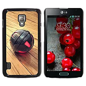 Planetar® ( Metal Sphere ) LG Optimus L7 II P710 / L7X P714 Fundas Cover Cubre Hard Case Cover