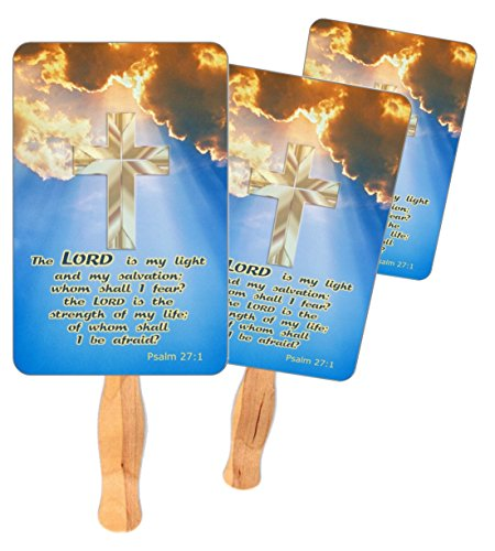 Church Hand Fans Set of 100 ()