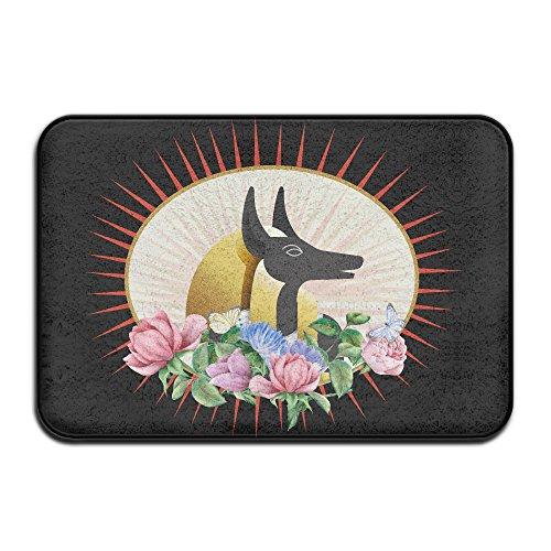 NEIzDAN Bling Bling Anubis God Anubis Soldiernicepersonalized Door Matswelcome MatFunny Doormats Outdoor Doormats Indoor Doormats Carpet Cleaner Doormat Dog ()