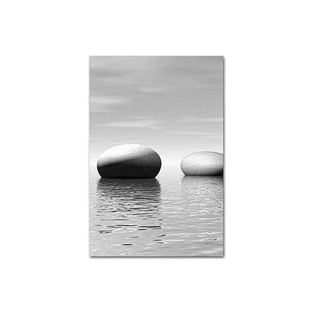 sanzangtang Pintura Decorativa Abstracta de Piedra Zen ...