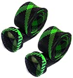 fishing rod socks - Rod Sock Black/Green (Flat-M-5)