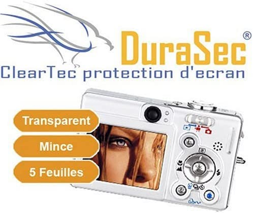 DuraSec 5/ x ClearTec Screen Protection Film for HP Photosmart 320