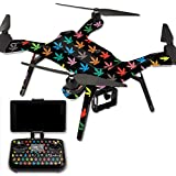 MightySkins Protective Vinyl Skin Decal for 3DR Solo Drone Quadcopter wrap cover sticker skins Sticky Icky Icky