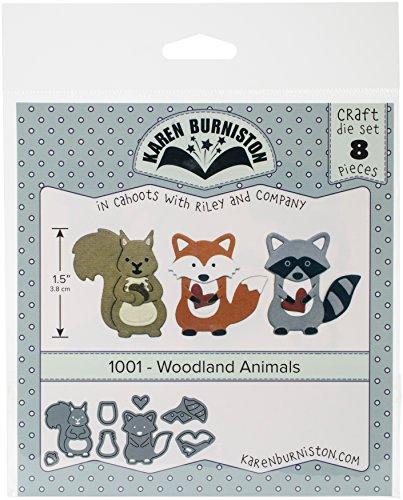 KB Riley 1001 Karen Burniston Dies-Woodland Animals