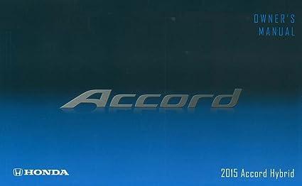 2015 accord service manual