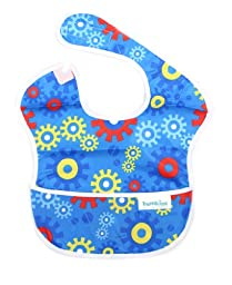 Bumkins 3 Pack Waterproof SuperBib (Fire Engine/Blue Gears/Construction)