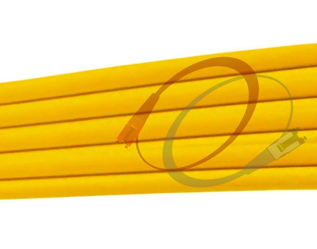10Gb Duplex 9//125 LC to ST Singlemode Jumper 2 Meter 6.56ft 2M OS2 LC ST Fiber Patch Cable | Length Options: 0.5M 300M 1gb 10gb smf UPC sfp 10gbase sm PVC ofnr lc-st FiberCablesDirect