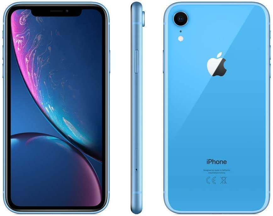 Apple iPhone XR - Smartphone de 6.1 pulgadas (64 GB) azul ...