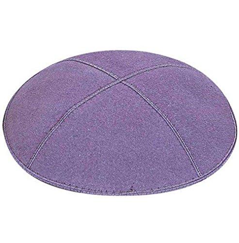 Zion JudaicaTM Suede Quality Kippot for Affairs or Everyd...