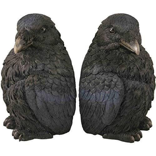 Streamline Raven Bookends Decor for Home -