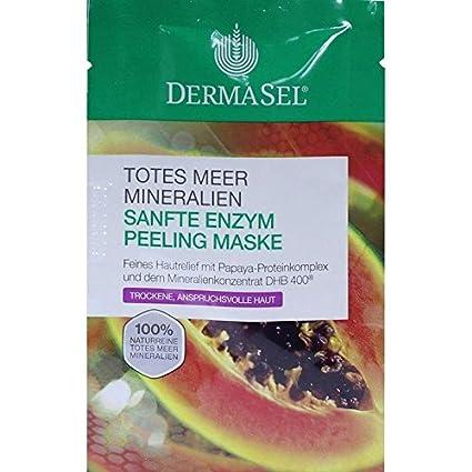 dermasel Máscara enzima exfoliante Spa 12 ml Máscara Facial ...