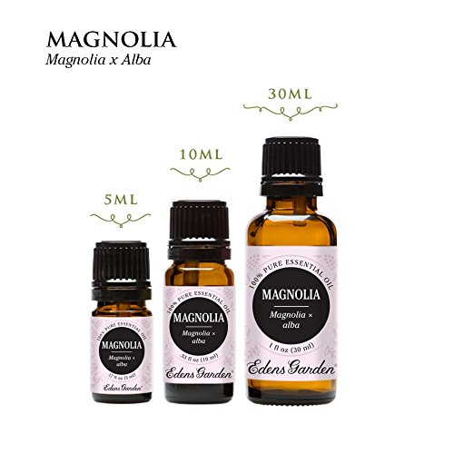 Magnolia Essential Oil (100% Pure, Undiluted Therapeutic/Best Grade) High Quality Premium Aromatherapy Oils by Edens Garden- 5 ml