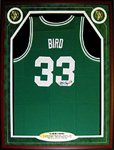 028c1b12642 Signed Larry Bird Jersey - Pre-Framed Green - SM Holo - Autographed NBA  Jerseys