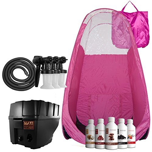 Maxi Mist Lite Plus Hvlp Sunless Spray Tanning Kit Tent
