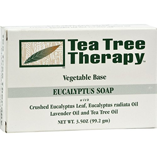 Tea Tree Therapy Eucalyptus Soap Vegetable Base - 3.5 oz (Pack of 2)