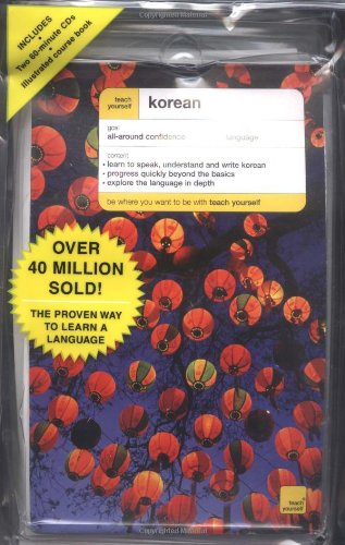 Complete Course Package Book (Teach Yourself Korean Complete Course Package (Book + 2 CDs) (TY: Complete Courses))