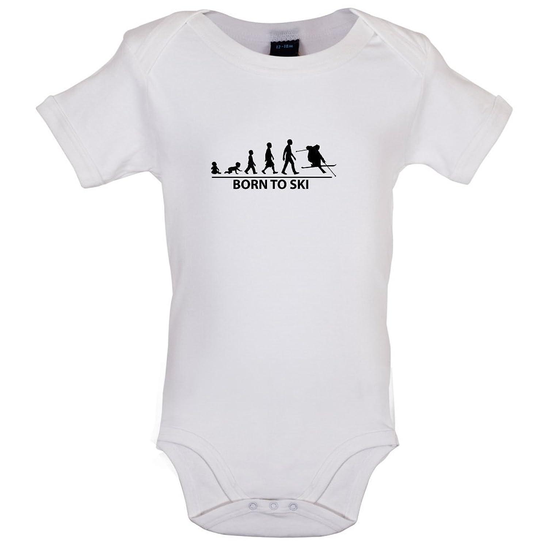 Born To Ski - Baby-Body - 7 Farben - 0-18 Monate