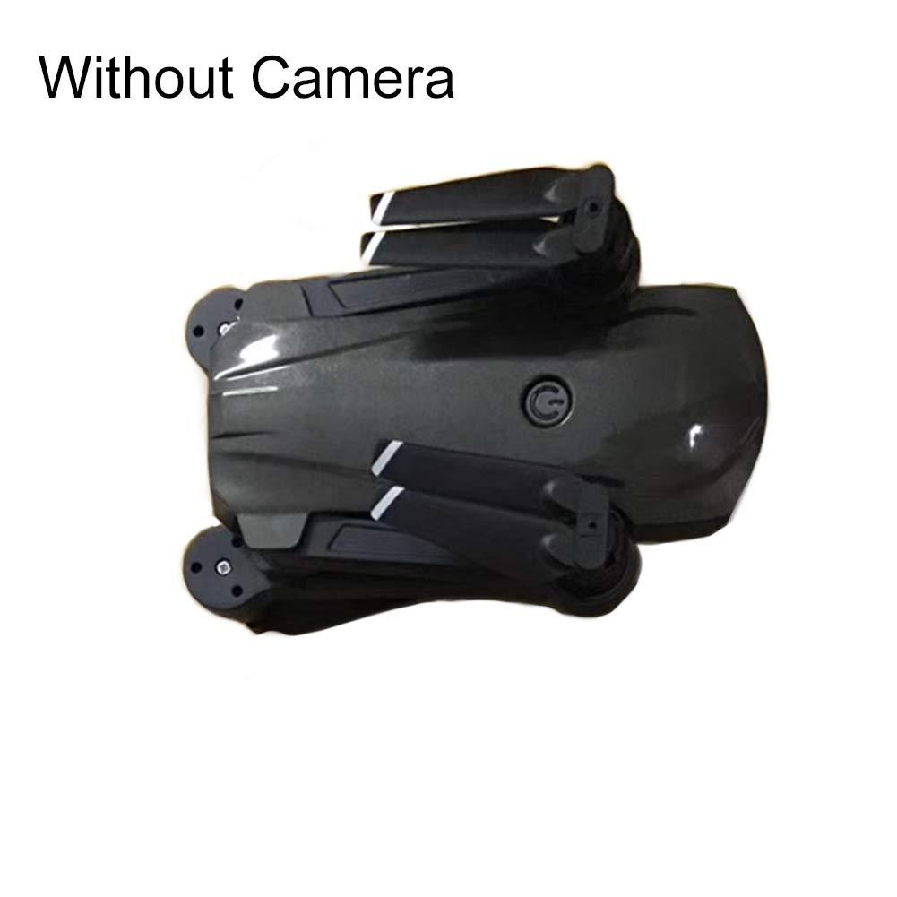 CG033 Drone Kids Gifts Android iOS WiFi con cámara/sin cámara 4 ejes GPS plegable RC Drone Quadcopter Antena Fotografía without camera negro