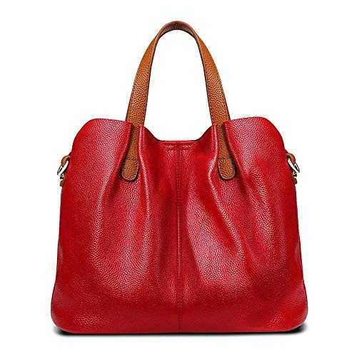 Handbag Fashion Baotou Baotan Mother Layer Oblique Female Hongge Leather C Cowhide Shoulder A7tnwqqvC
