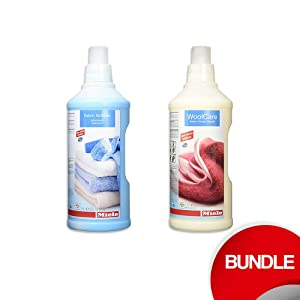 Miele Care Collection HE Wool Care and fabric softner bundle