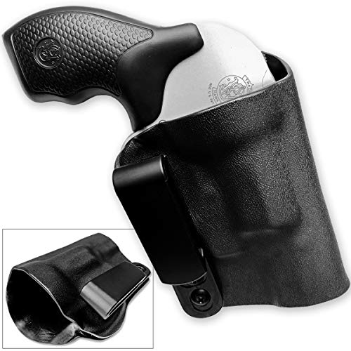 Head Down Firearms Kydex Holster S&W 442, 642, 638 Revolver AIWB Tuckable Adjustable Cant J-Frame Models