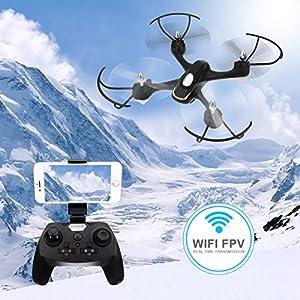 EACHINE E33W Wifi FPV Quadcopter With Camera Headless Mode RC Quadcopter Drone RTF Mode 2 from EACHINE