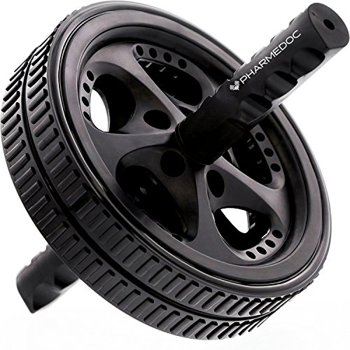 PharMeDoc Ab Roller Wheel - Ab Workout Equipment for Core Exercise, Athletes, and Home Gym