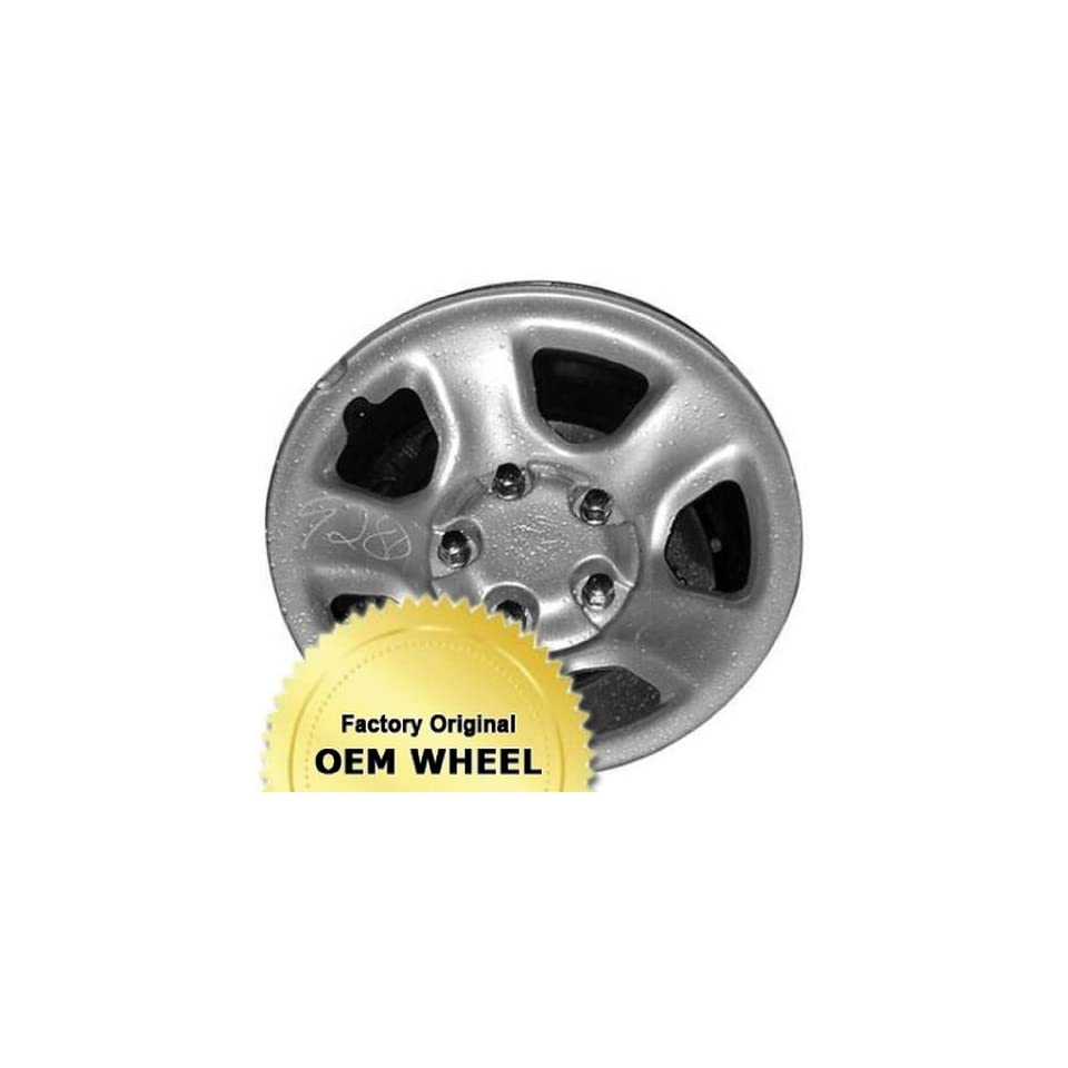 DODGE RAM 1500 17x8 5 SPOKE Factory Oem Wheel Rim  STEEL CHROME   Remanufactured Automotive