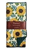 #7: Fall Sunflowers Dish Drying Mat Reversible Autumn Kitchen Decoration