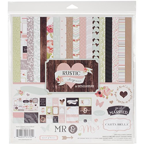 Carta Bella Paper Company Rustic Elegance Collection Kit for Scrapbooking