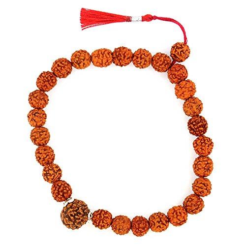 Gems River Eight Mukhi Natural Rudraksha Bracelet For Success with Certificate